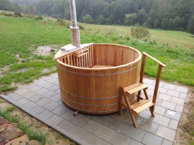 balia ogrodowa sauna